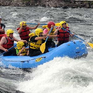 River Rafting from Rendezvous Rafters Camp